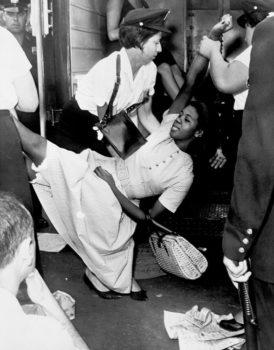 donna-afroamericana-dimostrazione-a-Brooklin