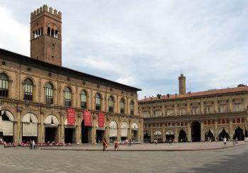 città d'arte Bologna Piazza Maggiore