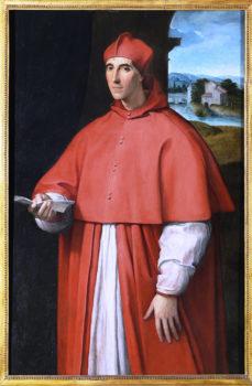 Capodimonte Raffaello Ritratto del cardinale Alessandro-Farnese