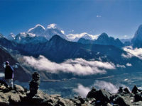 Panorama sulle montagne nepalesi