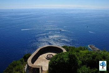 Promontorio di Portofino le batterie-nel-parco-grande