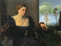 Giovan Girolamo Savoldo, ritratto di gentildonna