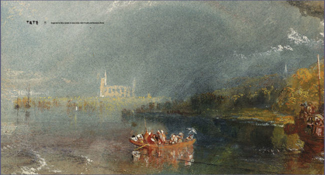 William Turner, Dart Chiostro del Bramante