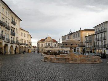Lisbona Portogallo 01 Evora Piazza