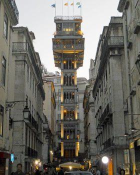 Lisbona 12 Elevatore Santa Justa