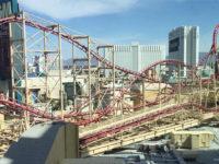 Las Vegas, montagne russe da paura
