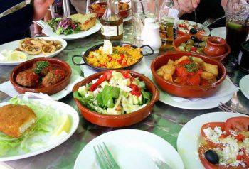 Cucina andalusa Tapas, piatto tipico della cucina spagnola