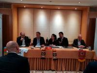 Tucano e Guizhou Hengfeng durante la conferenza stampa (foto: P. Ricc)