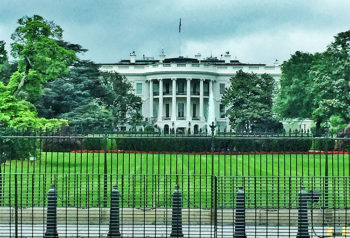 Tour storico a Washington Casa-Bianca-retro