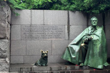 Tour storico a Washington, Franklin- D-Roosevelt-Memorial