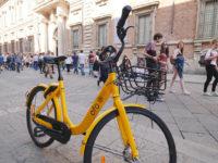 Bike sharing a flusso libero gestite dalla piattaforma ofo