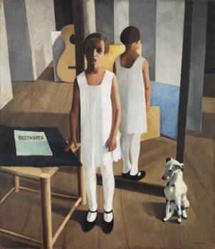 Realismo magico Felice-Casorati,-Beethoven-(1928).-Mart,-Collezione-VAF-Stiftung,-Rovereto