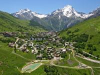 Panorama della stazione di Les 2 Alpes (foto: B. Longo)