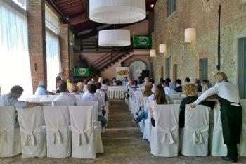 Crociera del gusto Scorcio-portico-Villa-Calini-Coccaglio