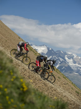 le 2 Alpes mountain bike-Rupert-Fowler