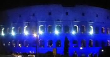 Luna piena eclissi-Colosseo,-foto-photo-G.-Nitti