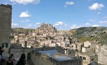 Panorama della città di Matera Matera