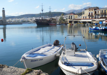 Creta porto-Old-Town-di-Rethimno