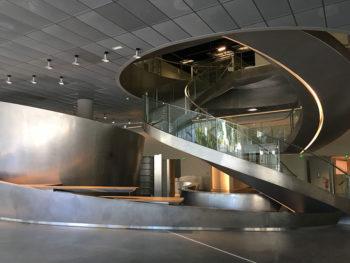 Nimes Escalier-Musée-de-la-Romanité,-photo-Ville-de-Nîmes