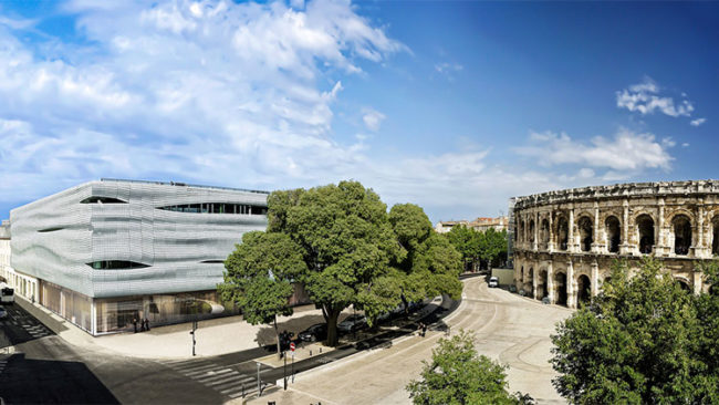 Musée de la Romanité  (ph: Stéphane Ramillon, Ville de Nîmes)