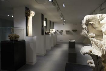 Nimes Musée-de-la-Romanité,-collection