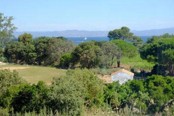 Porquerolles vista della Fondation-Carmignac