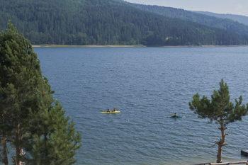 Parco della Sila lago Arvo canoe