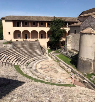 Spoleto anfiteatro-romano
