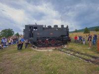 Treno della Sila. stazione dove avviene la rotazione della locomotiva (foto: emilio dati © 2018-Mondointasca.it)