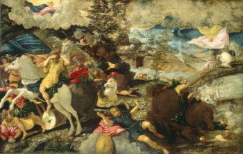 Tintoretto Conversione-di-San-Paolo
