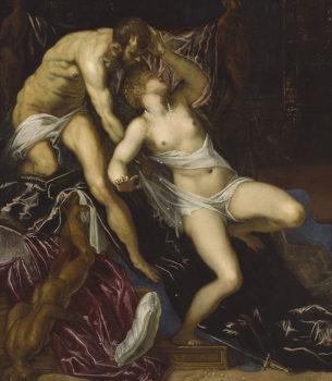 Tintoretto Tarquinio-e-Lucrezia