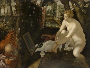 Tintoretto Susanna e i Vecchioni