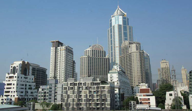 Ayuttaya grattacieli di Bangkok (foto: © Mondointasca.it)
