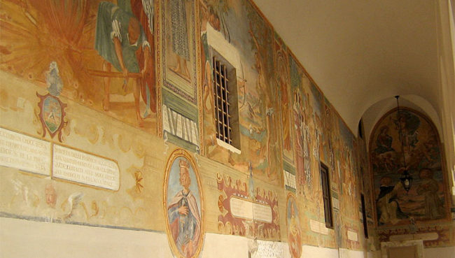 Galatina Chiostro di Santa Caterina d'Alessandria
