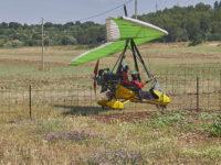 Volo in deltaplano a motore (foto: Emilio Dati © Mondointasca.it)