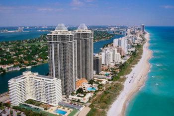 Miami Beach vista-dall'alto