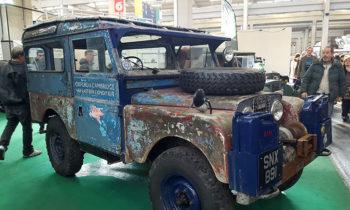 Land Rover automotoretro