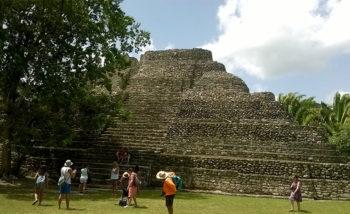 Belize Costa Maya rovine di Chacchoben-Messico
