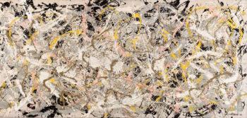 Jackson Pollock Number-27-mostra-Roma-Vittoriano