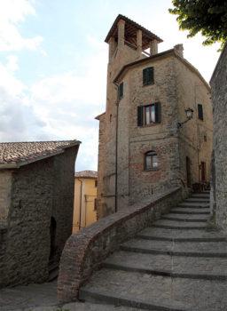 Autunno in Umbria Montone-centro-storico