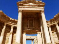 Particolare del sito archeologico di Palmyra