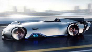Parigi 2018 Mercedes vision-EQ-concept