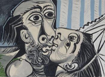 Carrà Picasso Il bacio
