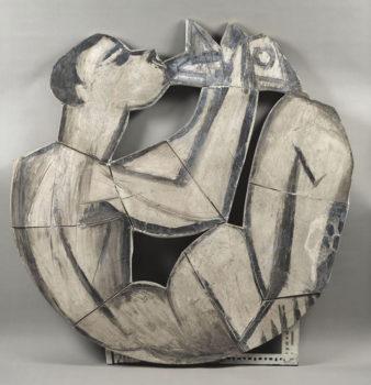 Carrà Picasso-Suonatore-di-flauto-doppio-seduto