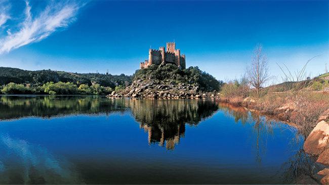Portogallo, Castello di Almourol, fortezza templare (© Turismo de Portugal)