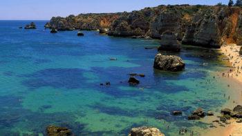 Algarve Portogallo-Praia-Dona-Ana