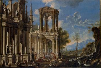Museo Pushkin Francesco Aviani Paesaggio con Lazzaro