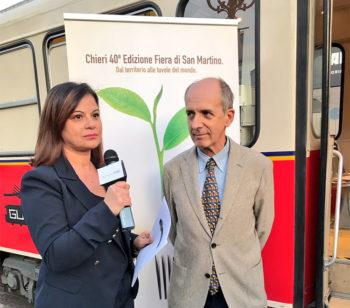 Il sindaco di Chieri, Claudio Martano presenta la-Fiera-di-San-Martino