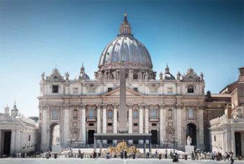 Sand Nativity Roma 2018 la cupola-di-Michelangelo
