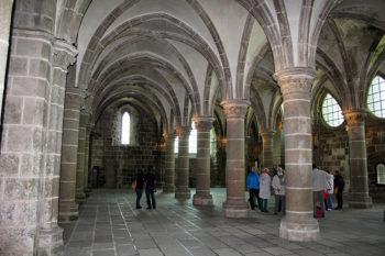 Mont Saint Michel Sala dei cavalieri ph-Miriam-Briotti
